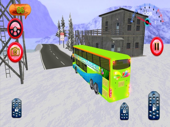 Hill Bus Driver 3d 2017 Mania screenshot 10