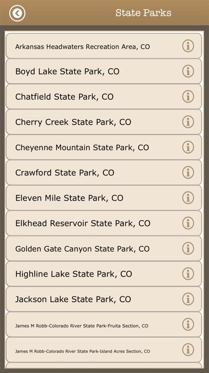 Colorado - Camps & Trails,Park screenshot-4