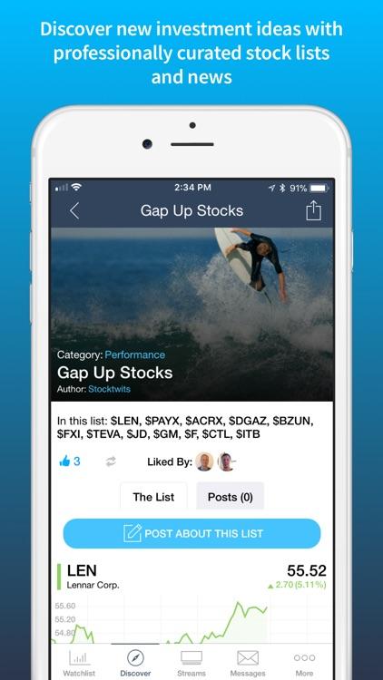 StockTwits Stock & Crypto Chat screenshot-3