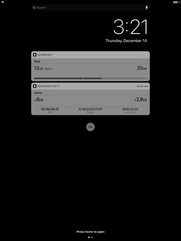 DataRocket Data Usage Monitorのおすすめ画像1