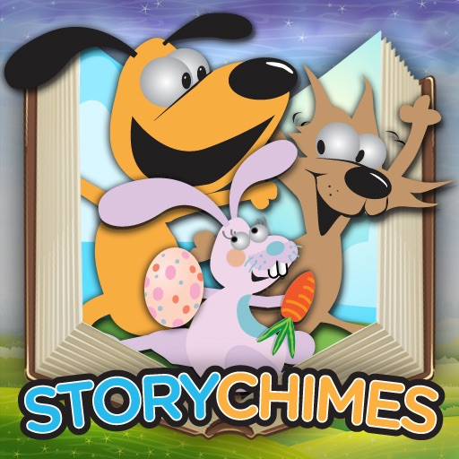 Jasper in The Great Easter Egg Race StoryChimes...