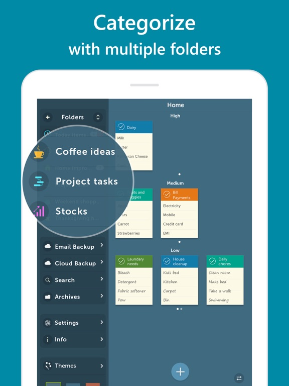 Screenshot #1 for Orderly - Simple to-do lists