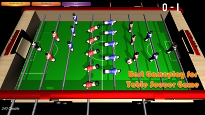 Table Soccer Foosball 3D screenshot 1
