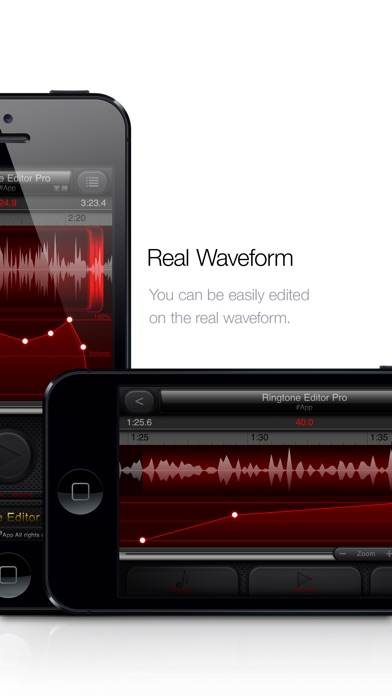 Screenshot #2 for Ringtone Editor Pro