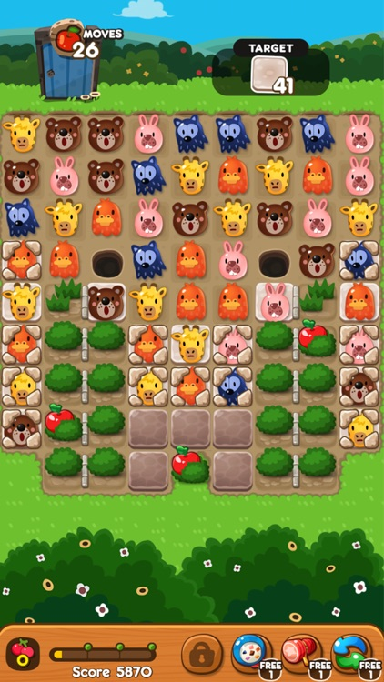POKOPOKO The Match 3 Puzzle screenshot-5