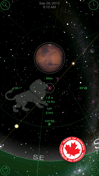 GoSkyWatch Planetarium screenshot one