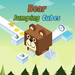 Wild bear Hero Jumping Cubes