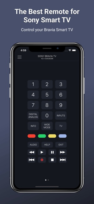 Smart TV Remote for Sony TV on the App Store
