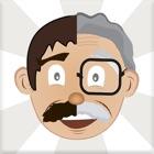 Gesicht Alter Herausgeber icon