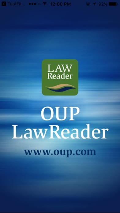 OUP - LawReader on proLibro screenshot one