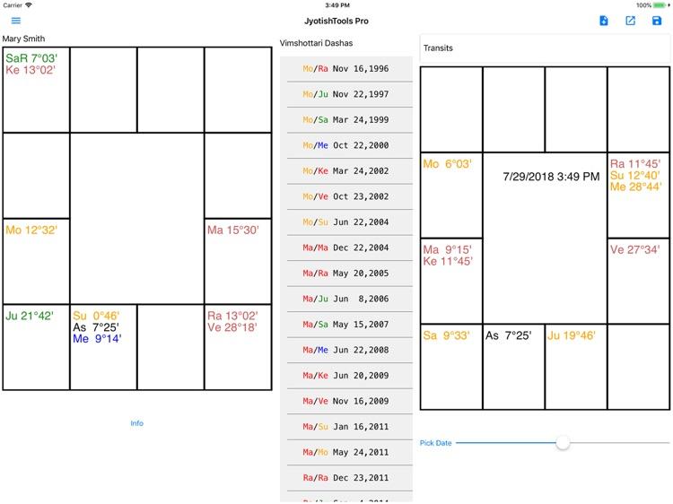 JyotishToolsPro for iPad screenshot-4