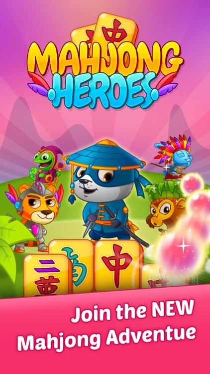 Mahjong Heroes Game screenshot-4