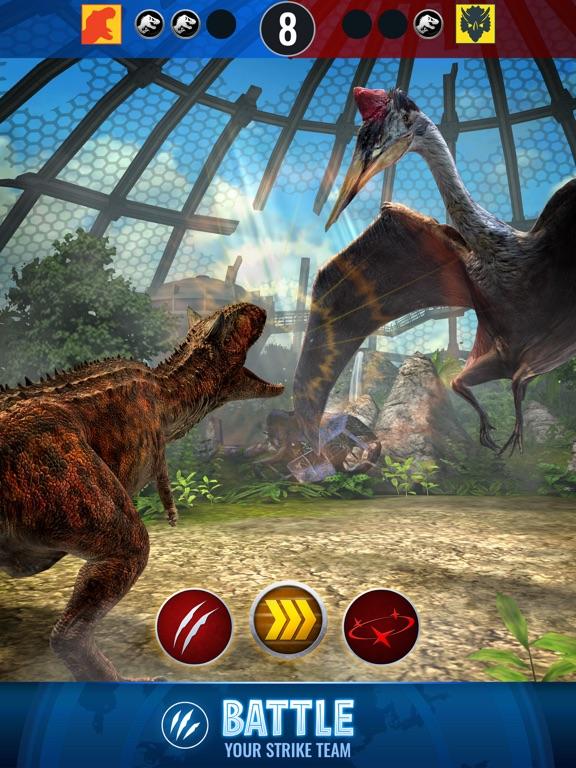 Jurassic World Alive-ipad-2
