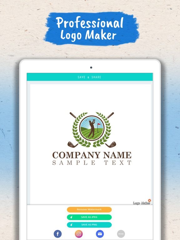 Screenshot #2 for Logo Maker - Logo Creator .
