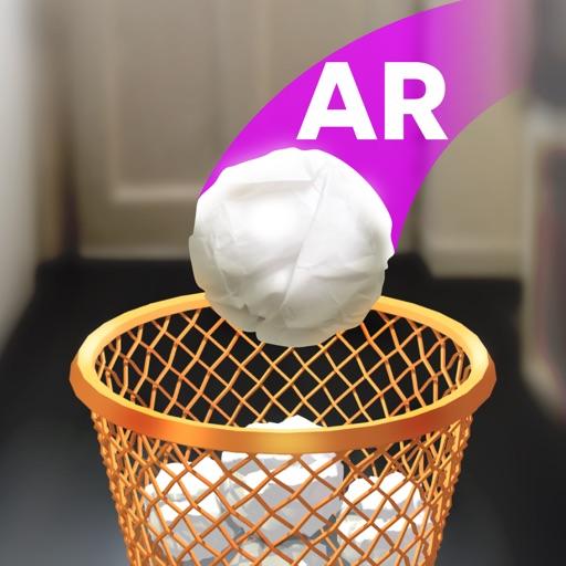 Paper Bin : Мусорное Ведро AR
