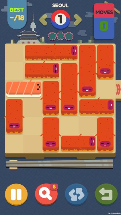 Push Sushi - slide puzzle screenshot-6