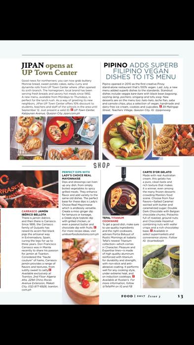 FOOD (Magazine) screenshot 5