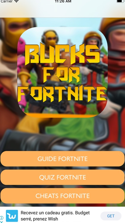 Quiz For Fortnite Vbucks screenshot-1