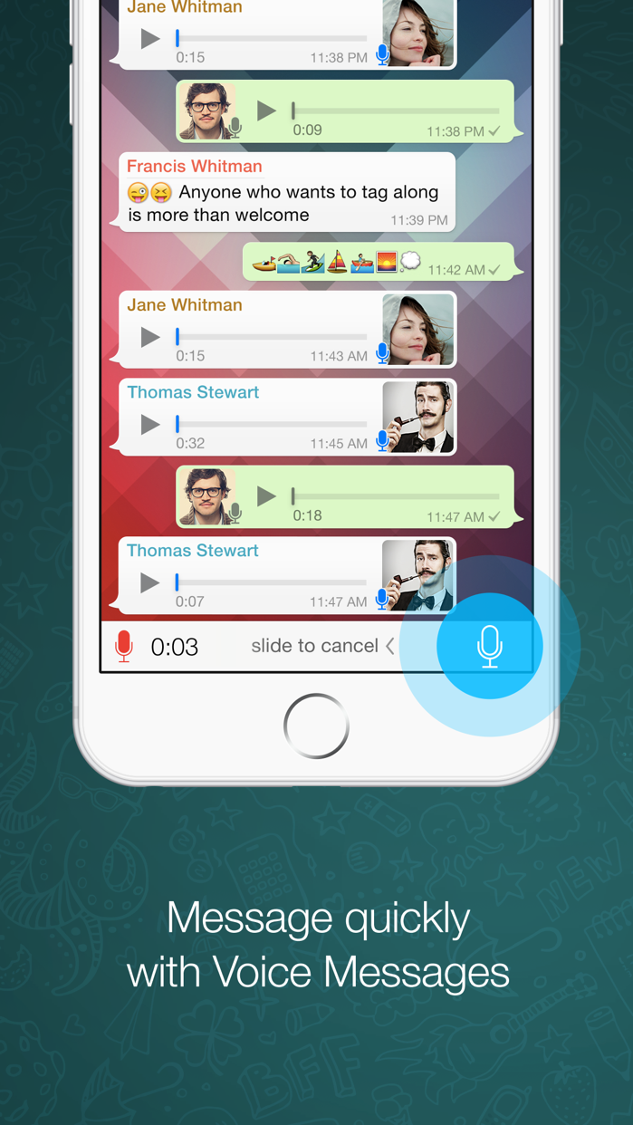 WhatsApp Messenger Screenshot