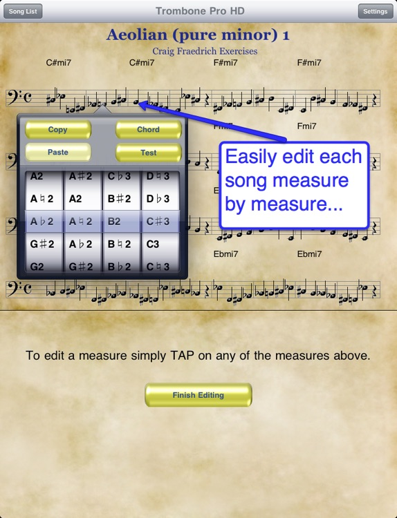 Trombone Pro HD screenshot-3