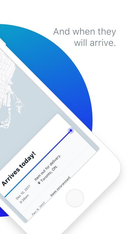 Arrive - Package Tracker screenshot-3