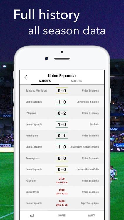 Primera Chile - Football Stats screenshot-3