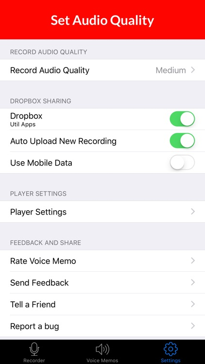 Voice Recorder & Audio Memo + screenshot-4