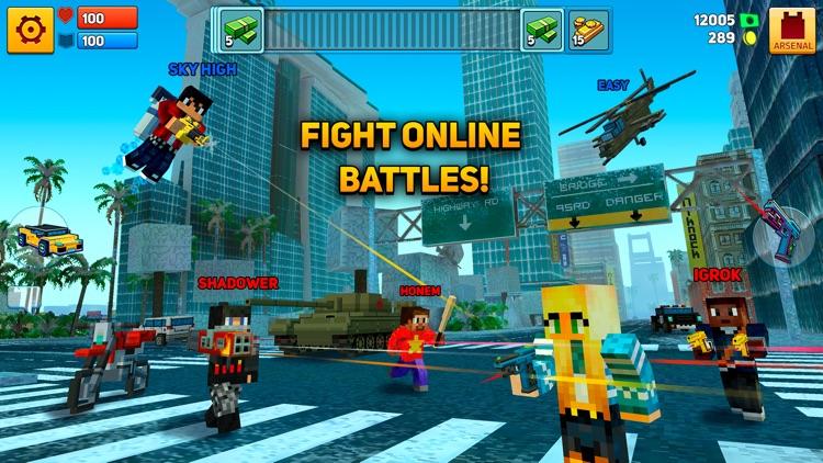 Block City Wars: Mafia Town