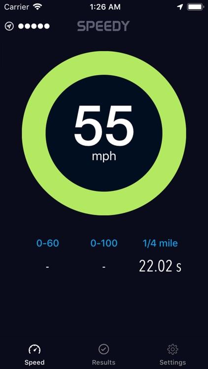 Speedy - Speedometer screenshot-3