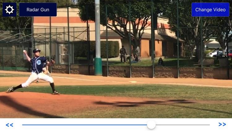Baseball Radar Gun - pitching speed and analysis