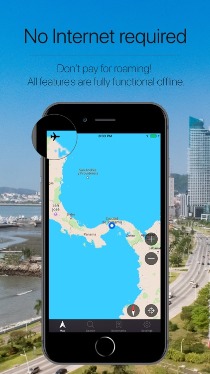 Panama Offline Navigation screenshot-0
