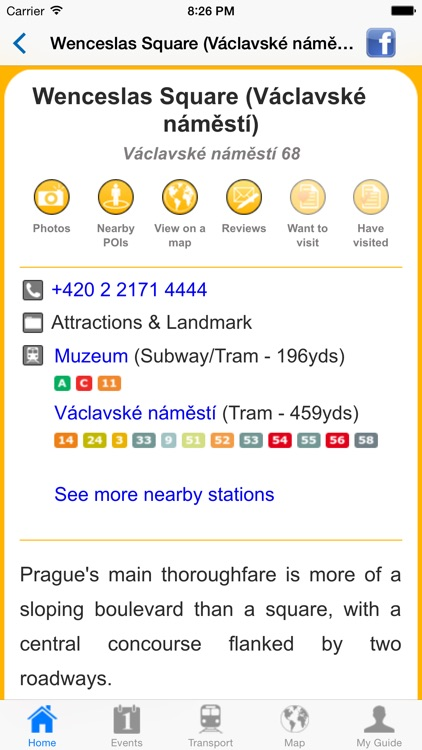 Prague Travel Guide Offline screenshot-4