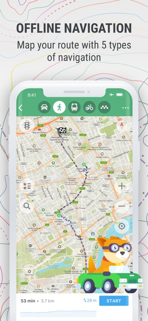 MAPS ME – fline Map & Nav on the App Store