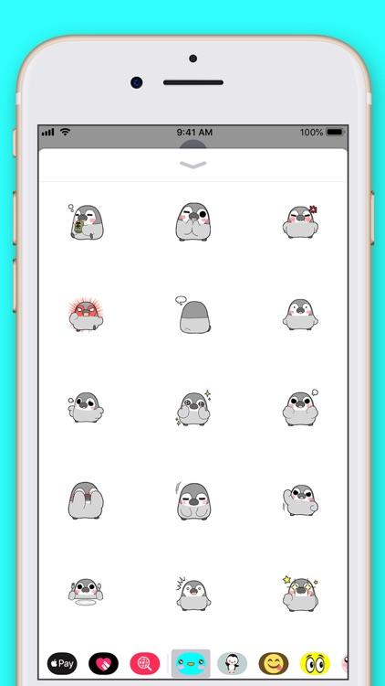 Cute Penguin Kawaii Stickers screenshot-3