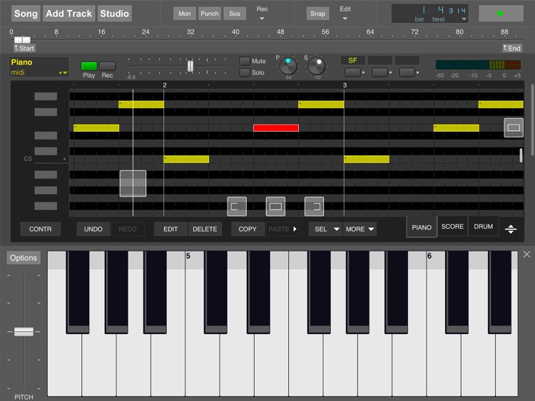 MultitrackStudio for iPad