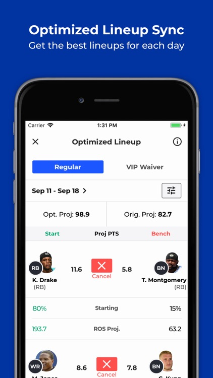 SquadQL - Fantasy Sports screenshot-3