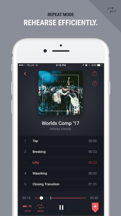FiveSix: Music Playback for Dance Choreography screenshot-3