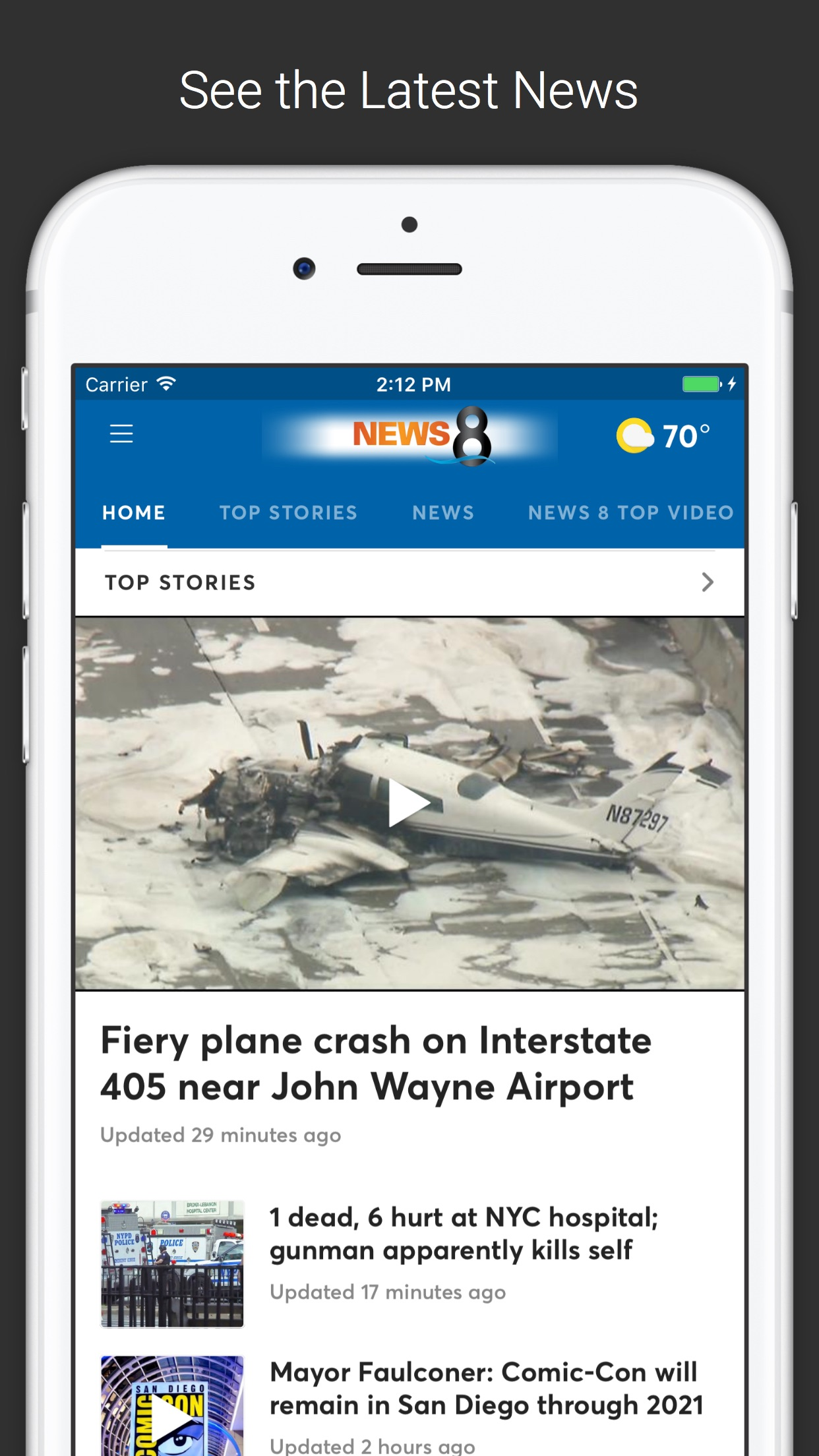 News 8 San Diego Screenshot