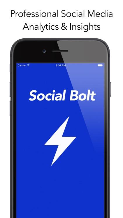 Social Bolt - Social Media Analytics & Insights