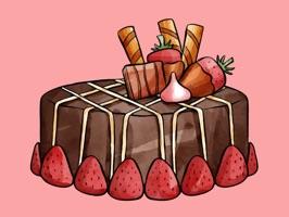 Bakery Cake Stickers