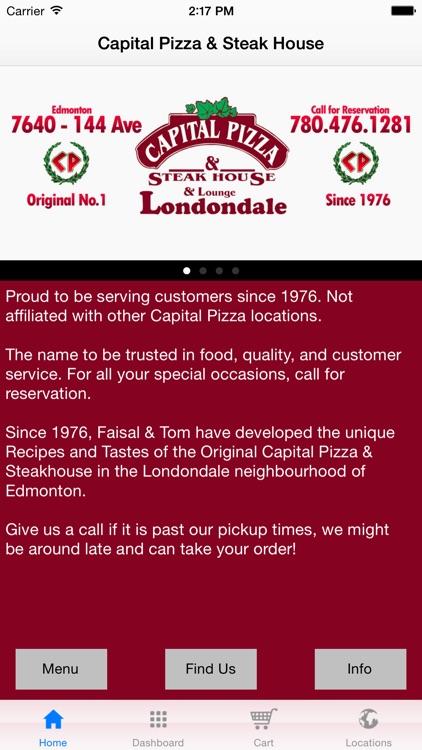 Capital Pizza - Londondale