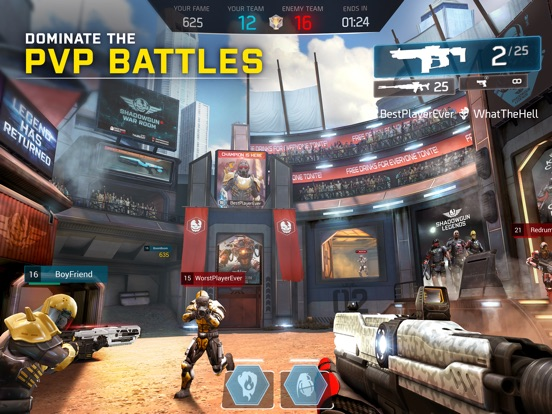 SHADOWGUN LEGENDS Screenshots