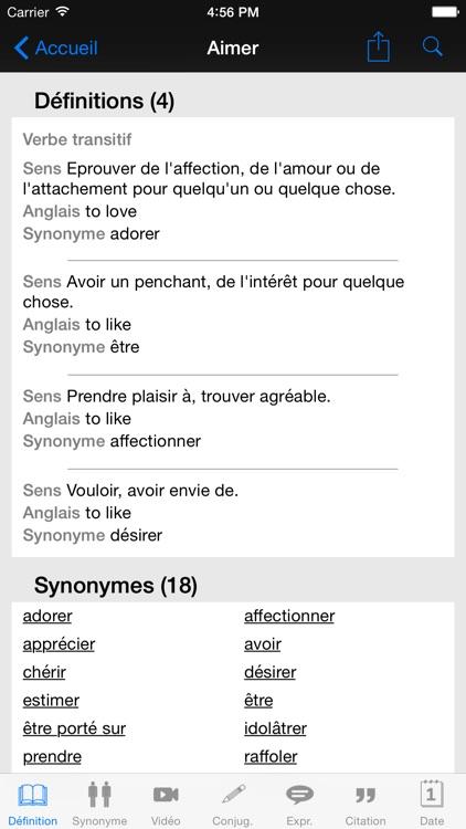 Dictionnaire Linternaute