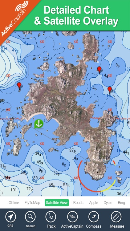 Saint Lucia - GPS Map Navigator