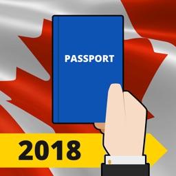 Canada Citizenship Test 2018