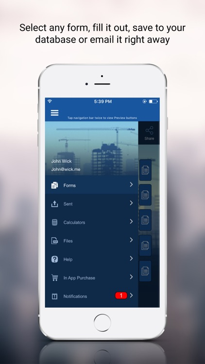 Construction Manager App