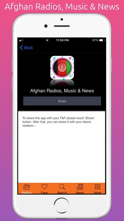Afghani Radios, Music & News screenshot-6