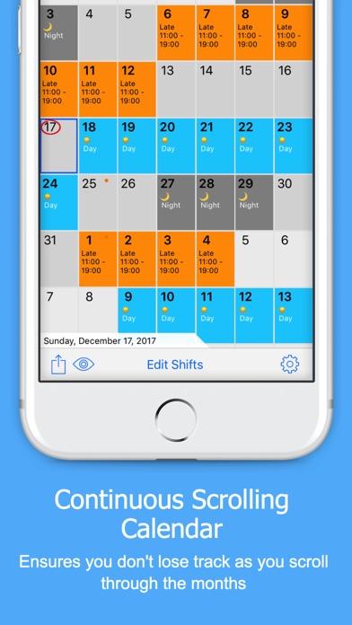 Rota Calendar app image