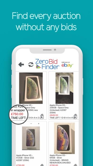 Zero Bid Finder for eBay Plus screenshot three