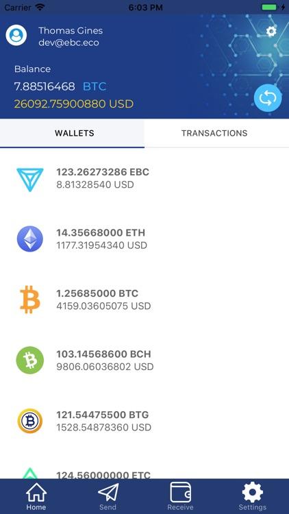 EBC Wallet